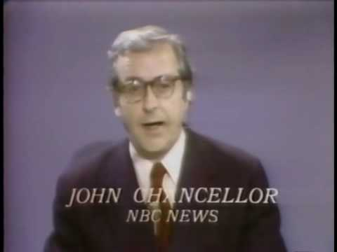 NBC News John Chancellor reports Saturday Night Massacre