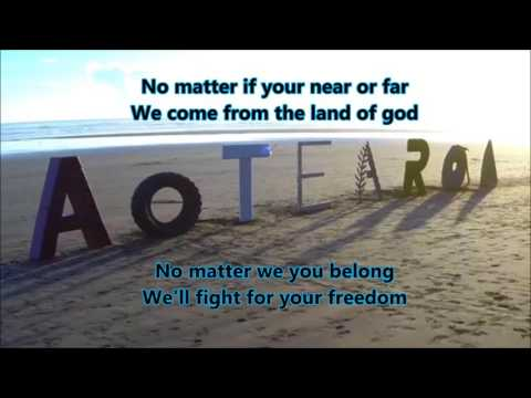 Aotearoa English Version - Lyrics Video