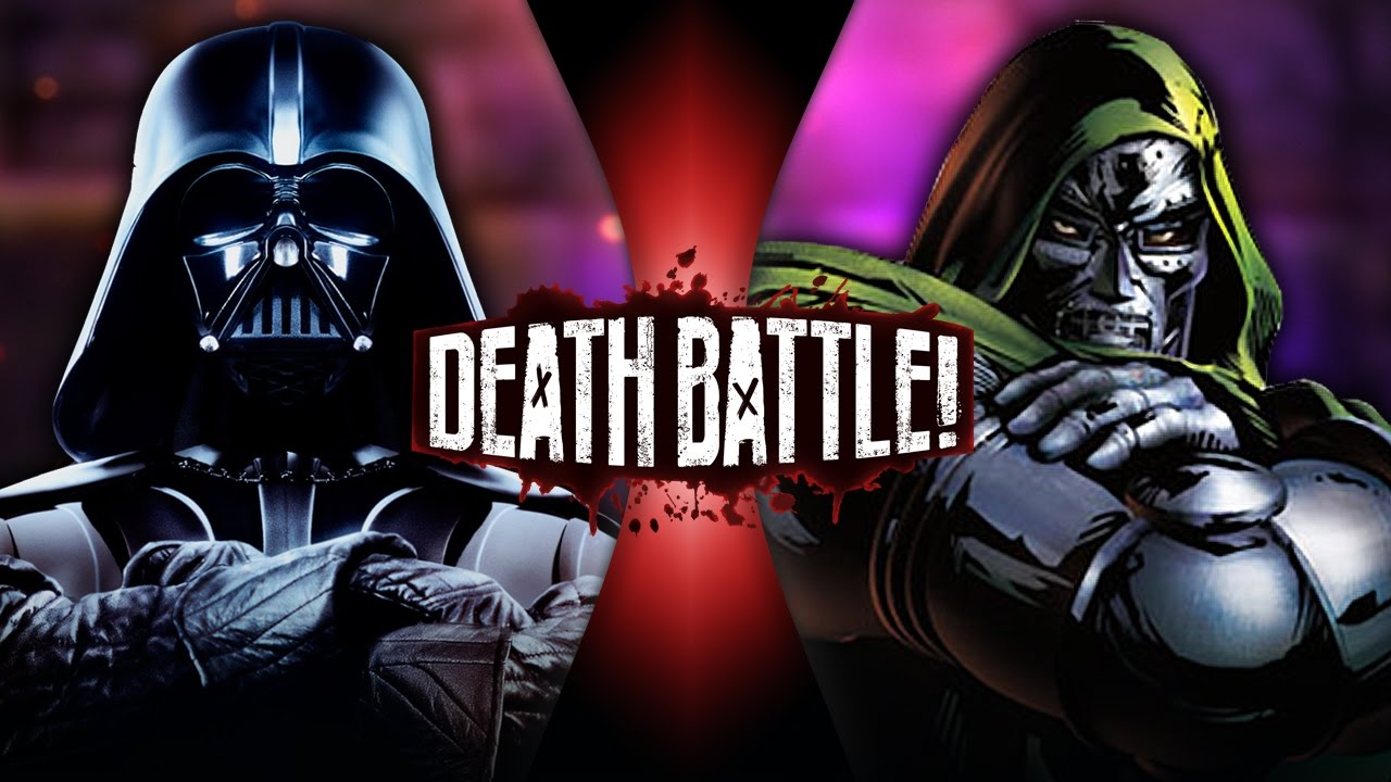 Darth Vader Vs Doctor Doom Star Wars Vs Marvel Death