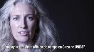 Únete a UNICEF por los niños y niñas de Gaza