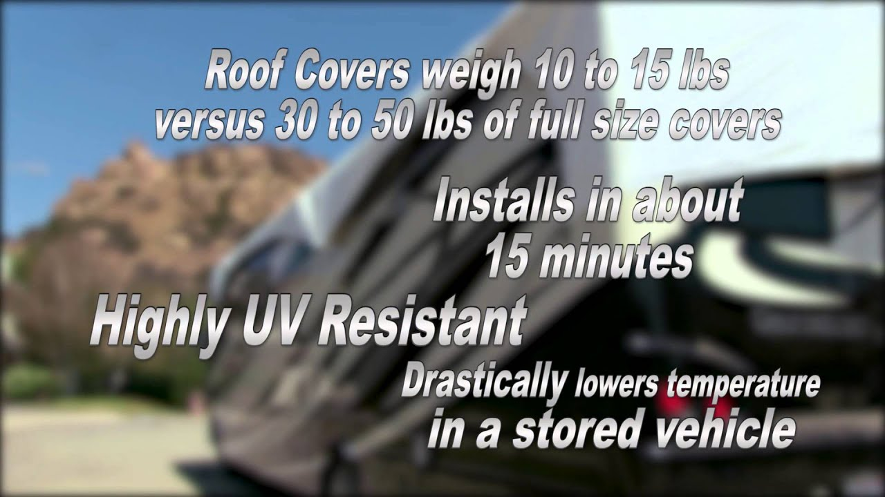 ADCO RV Roof Cover For Class A, Class C And Trailers   Features   YouTube