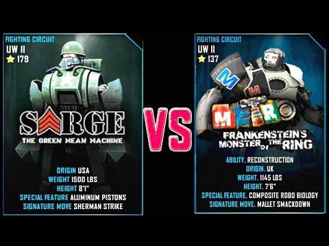 REAL STEEL WRB FINAL Sarge VS METRO (CHAMPION) New Robots UPDATE (Живая Сталь)