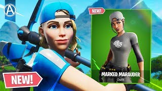 "NEW ""BANNER BRIGADE"" SKIN SET Gameplay! // Use Code: byArteer (Fortnite Battle Royale LIVE)"