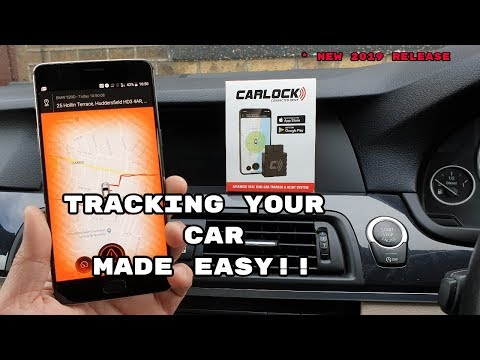 CARLOCK ANTI-THEFT DEVICE GPS Tracker !! Unboxing / Setup / Demo & Review