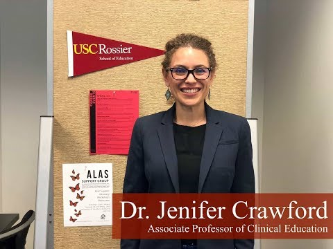 USC MAT-TESOL Faculty Feature: Dr. Jenifer Crawford