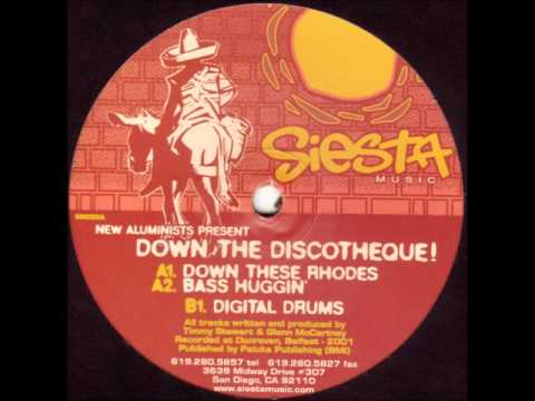 New Aluminists  - Down The Discotheque! (A2 Bass Huggin')