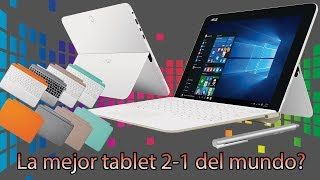 Tablet Asus T102HA Review Completo Español