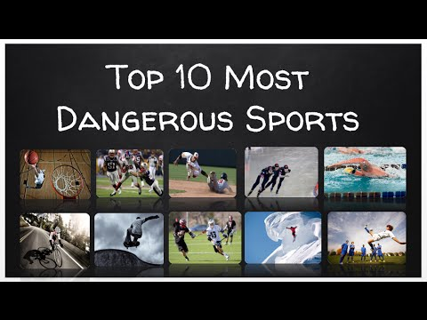 Top 10 Most Dangerous Sports - YouTube