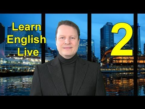 Learn English Live - YouTube