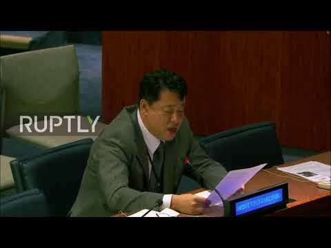 UN: 'Nuclear war may break out any moment' - North Korean ambassador