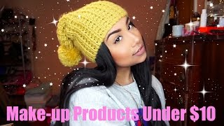 Beauty On A Budget | Make-up Products Under $10| TheAnayal8ter