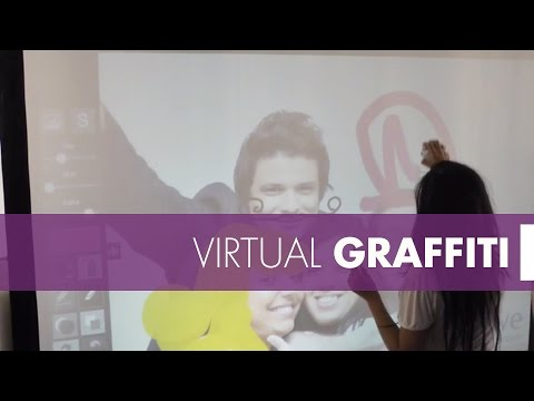 Virtual Graffiti - Animation de graffiti numérique