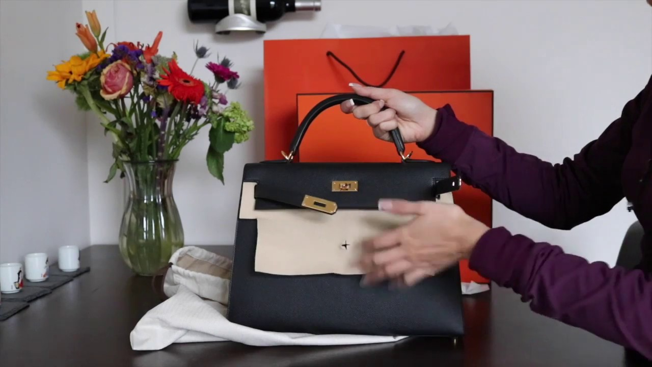 bfe203888689 REVEAL   COMPARISON  Hermes Kelly Sellier 32 vs Birkin 30