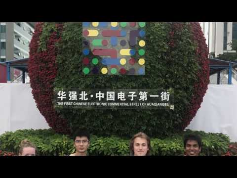 PSYONIC in Huaqiangbei in Shenzhen, China