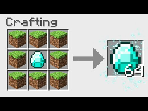7 New Crafting GLITCHES In Minecraft!