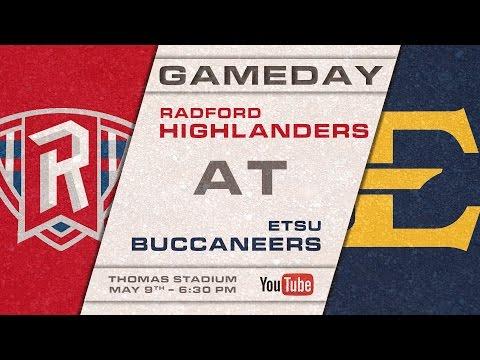 ETSU Baseball vs Radford - 5/9/2017