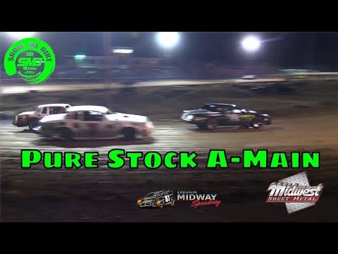 Pure Stock A-Main Malvern Bank Cash Money SuperDirt - Lebanon Midway Speedway 10-19-2019
