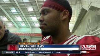 Nebraska football's Keith and Keyan Williams father-son duo