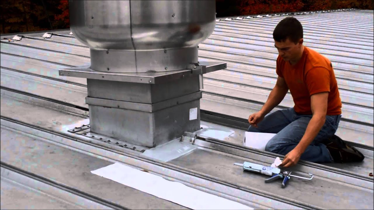 Immerseal Hd Installation On A Metal Roof Curb Youtube
