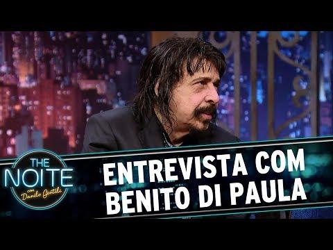 Entrevista com Benito di Paula | The Noite (05/06/17)