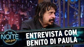Entrevista com Benito di Paula   The Noite (05/06/17)