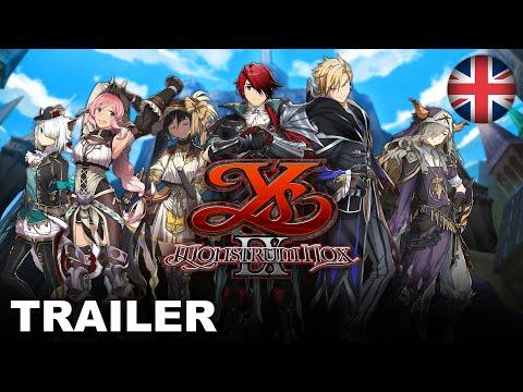 Ys IX: Monstrum Nox - Character Trailer (PS4, Nintendo Switch, PC) (EU - English)