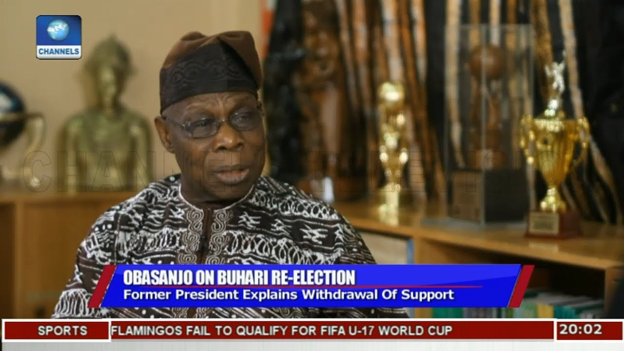Obasanjo Explains Why He Thinks Buhari Should Not Seek Re-Election |Politics Today|