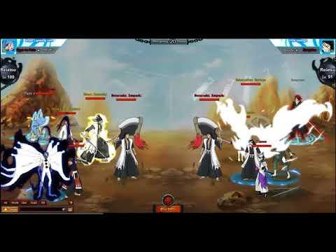 Bleach Online - Shini Game | Cross Server Battle part 2 lvl 126