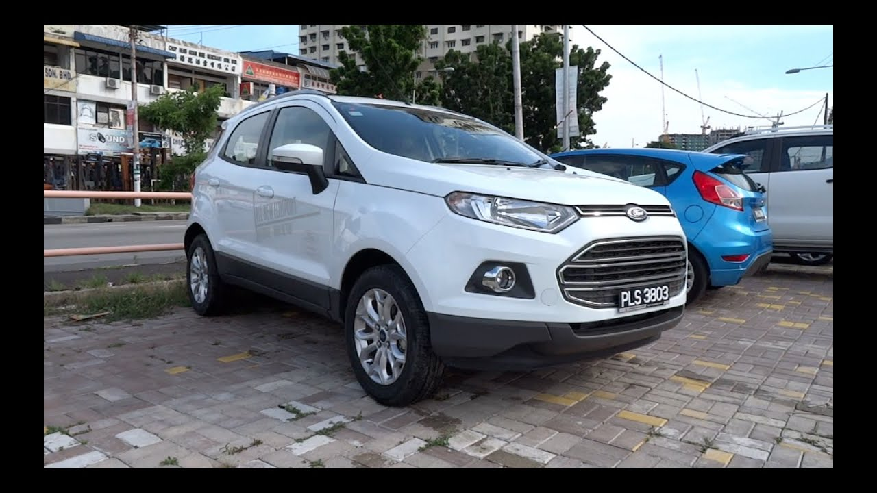 2014 ford ecosport 1 5 ti vct titanium start up and full vehicle tour youtube