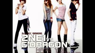 2NE1 vs G-Dragon - Hate You (Mashup) By DJ LADY DIAMOND