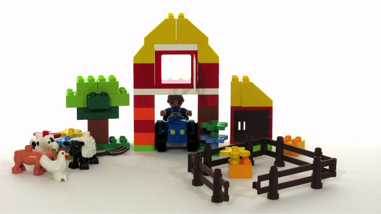 LEGO Duplo Toys | 6141 My First Farm Toy Review