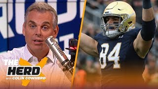 Colin Cowherd picks Week 7 college football in the Marquee 3 | CFB | THE HERD