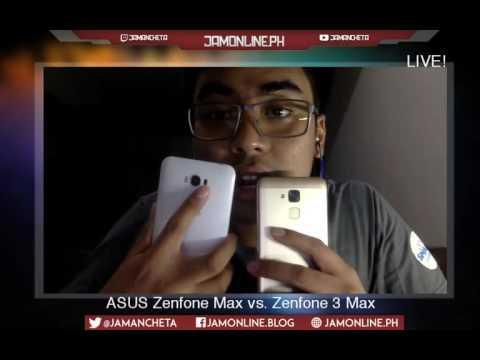 ASUS Zenfone 3 Max Vs. Zenfone 3 - Jam Online TV Live!