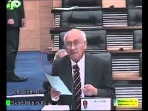 Sen. Dr Syed Husin Ali Bahas RUU Kumpulan Wang Persaraan (Pindaan) 2015