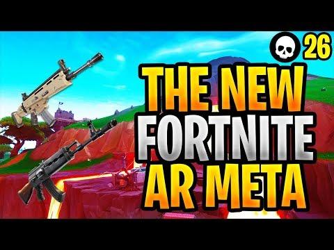 The NEW Assault Rifle Meta In Fortnite! (Fortnite Assault Rifle Tips - Season 8)