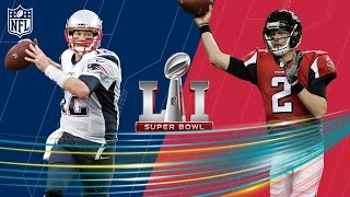 Tom Brady or Matt Ryan: Who has the Better Supporting Cast? | ATN | Super Bowl LI Preview | NFL