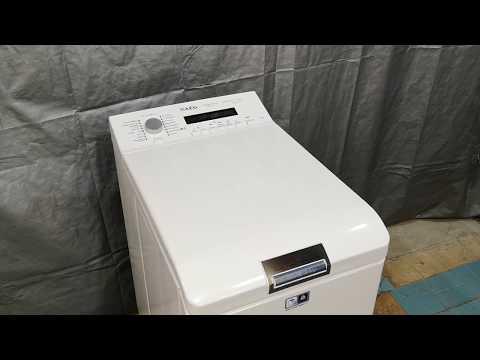 Обзор б/у стиральной машины с вертикальной загрузкой AEG Protex Plus ÖKO+++ Обработка паром!!!