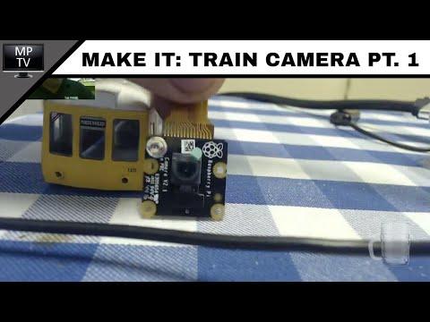 Raspberry Pi Wireless Camera for Model Railways