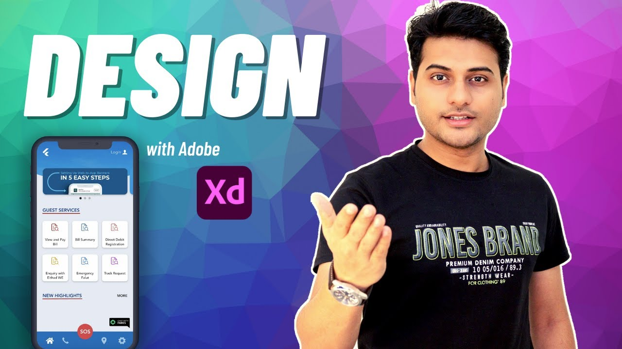 Design Beautiful UI in Adobe XD