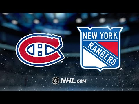 Lundqvist, Rangers shut out Canadiens, 2-0