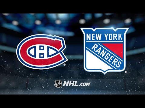 Lundqvist, Rangers shut out Canadiens, 2-0