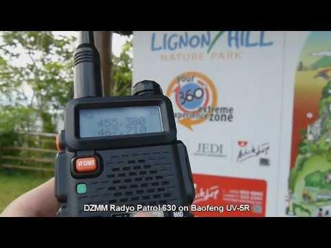 DZMM AM Broadcast on Baofeng UV-5R