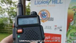 DZMM AM Broadcast on Baofeng UV-5R