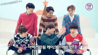 [ENG SUB] EXO-K Baskin Robbins Interview