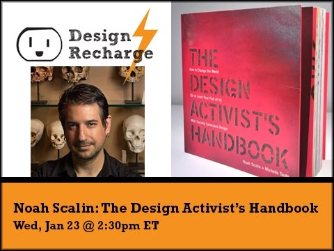 THE DESIGN RECHARGE SHOW: Noah Scalin // The Design Activist's Handbook