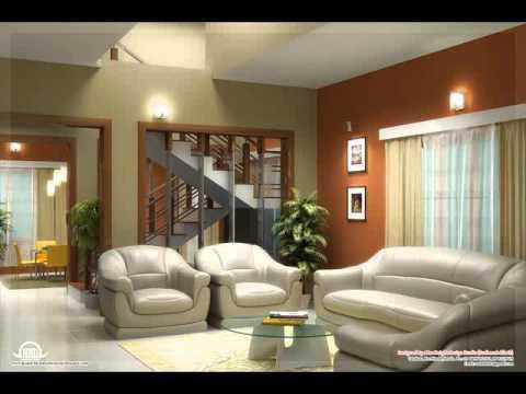 Desain Interior Ruang Tamu Warna Ungu Y Chandra