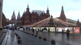 Capodanno diverso sulla Piazza Rossa a Mosca