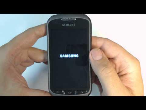Samsung Galaxy Xcover 2 S7710 - How to reset - Como restablecer datos de fabrica