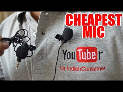 Neewer 3.5mm Hands Free Computer Clip on Mini Lapel Microphone REVIEW