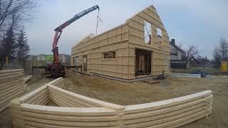 Budowa domu energooszczednego w konstrukcji szkieletowej Krygier Domy Drewniane płyta STEICO